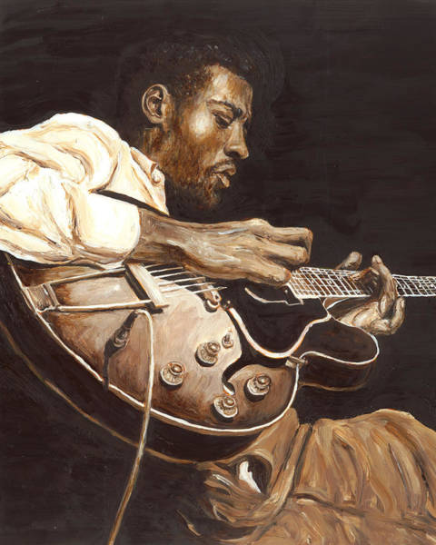 Wall Art - Painting - Grant Green by Rudy Browne