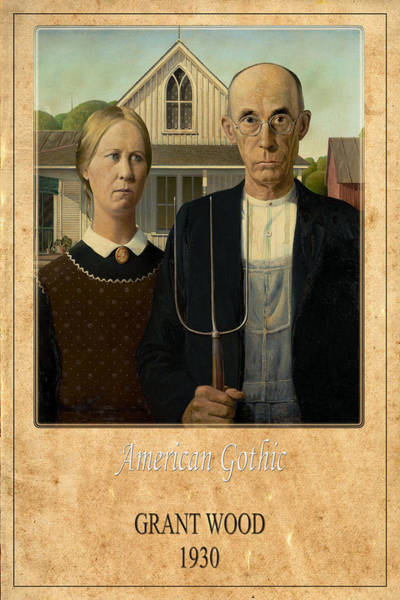 Photograph - Grant Wood 1 by Andrew Fare