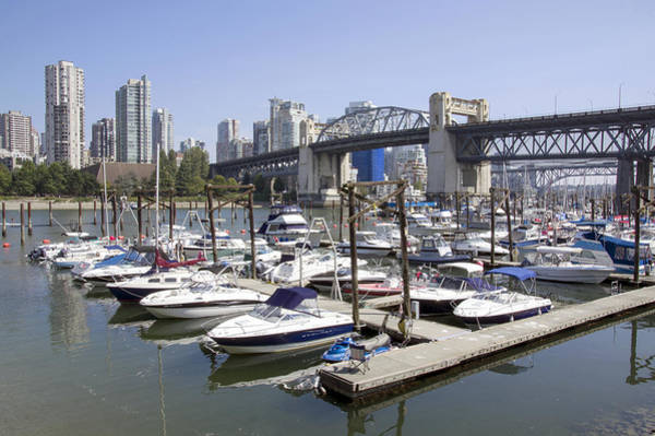 Photograph - Granville Island by Ross G Strachan