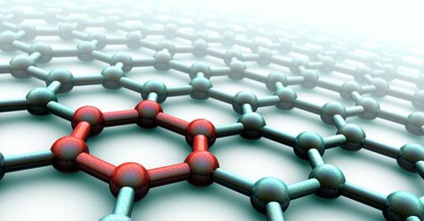 Molecule Photograph - Graphene by Animate4.com/science Photo Libary