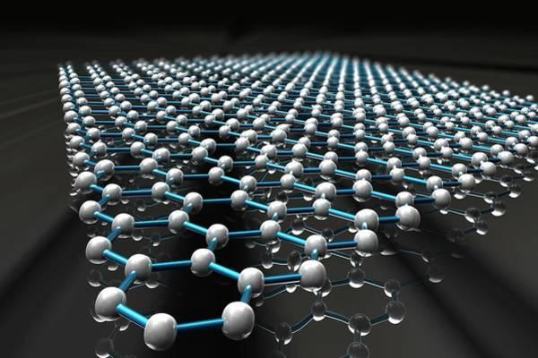 3d Visualization Photograph - Graphene Molecule by Ella Maru Studio / Science Photo Library