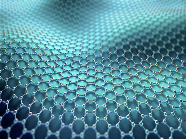 Wall Art - Photograph - Graphene Sheet by Ktsdesign