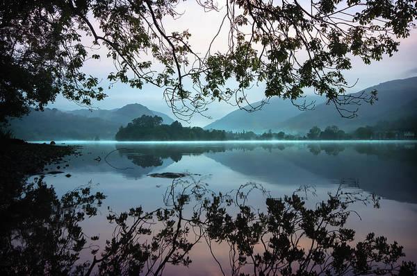 Grasmere Lake At Dawn Art Print