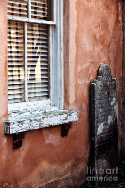 Photograph - Grave By The Window by John Rizzuto