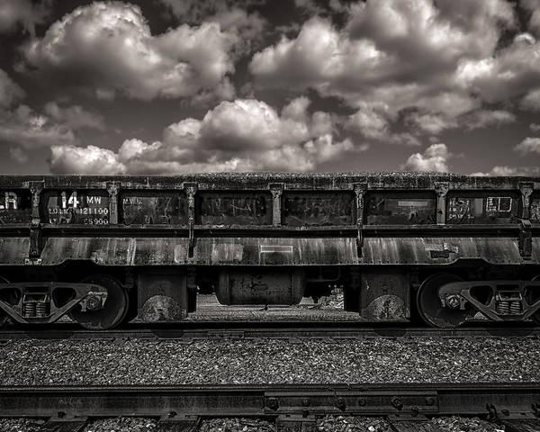 Photograph - Gravel Train by Bob Orsillo