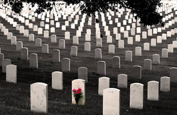 Don Johnson Photograph - Graves At Arlington National Cemetery by Don Johnson