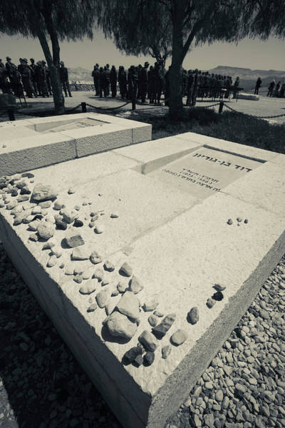 Wall Art - Photograph - Gravesite Of First Israeli Prime by Panoramic Images