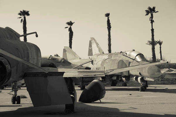 Airbase Photograph - Graveyard Of Us-built F-4 Phantom by Panoramic Images