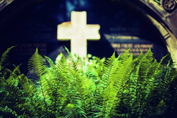 Church Yard Wall Art - Photograph - Graveyard by Wladimir Bulgar
