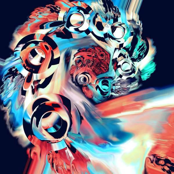Digital Art - Gravity Well by Anastasiya Malakhova
