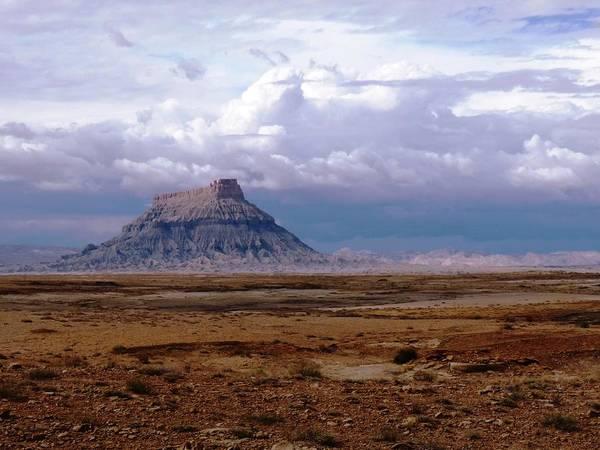Photograph - Gray Butte by Tranquil Light  Photography