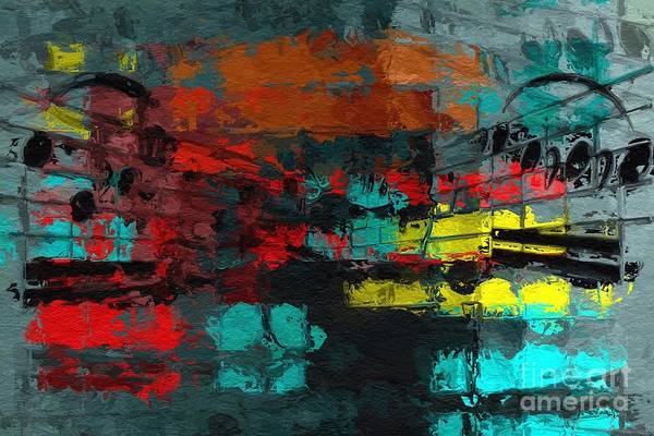 Digital Art - Gray Green Intermezzo by Lon Chaffin