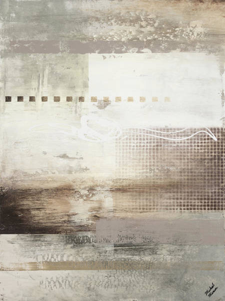 Wall Art - Painting - Gray Warmth Coming Through I by Michael Marcon