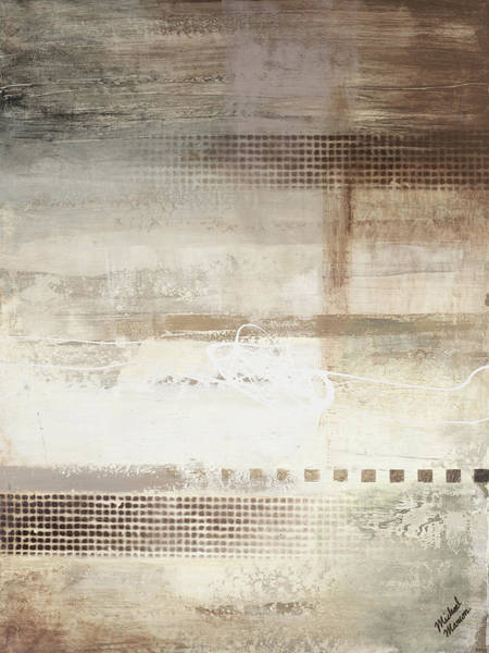 Wall Art - Painting - Gray Warmth Coming Through II by Michael Marcon