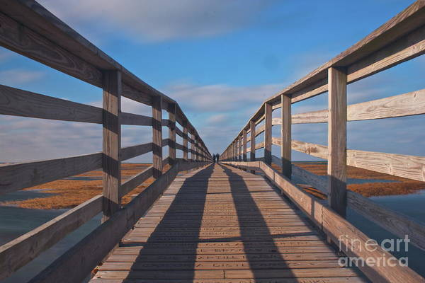 Photograph - Grays Beach Boardwalk On Cape Cod by Amazing Jules