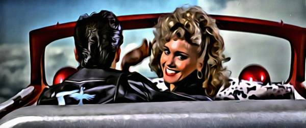 Painting - Grease by Florian Rodarte