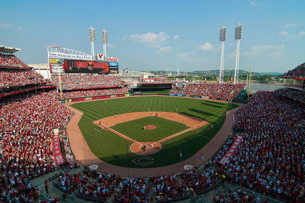 Photograph - Great American Ballpark by Mark Whitt