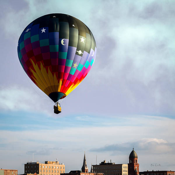 Photograph - Great Balls Of Fire Over Lewiston by Bob Orsillo
