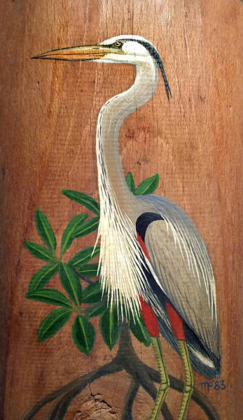 Painting - Great Blue Heron by Duane McCullough