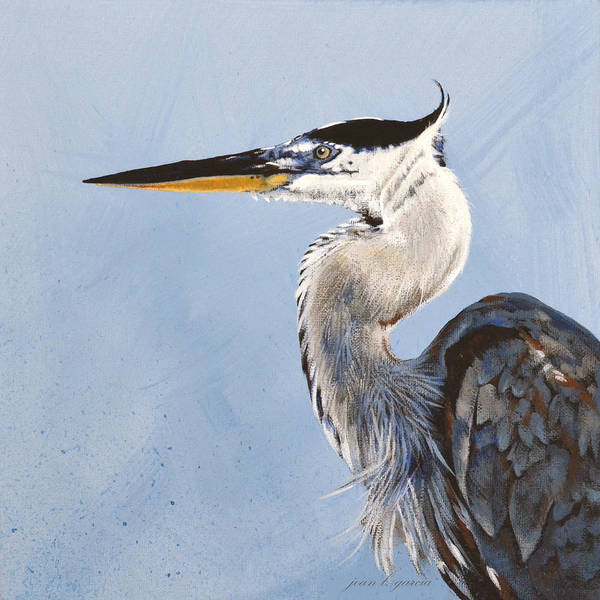 Painting - Great Blue II by Joan Garcia