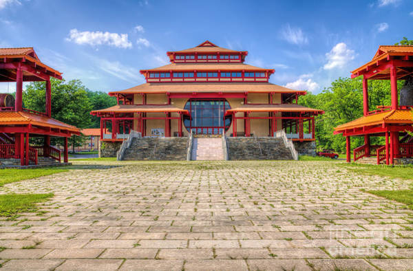 Photograph - Great Buddha Hall by Rick Kuperberg Sr