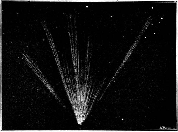 Wall Art - Photograph - Great Comet Of 1861 by Royal Astronomical Society/science Photo Library