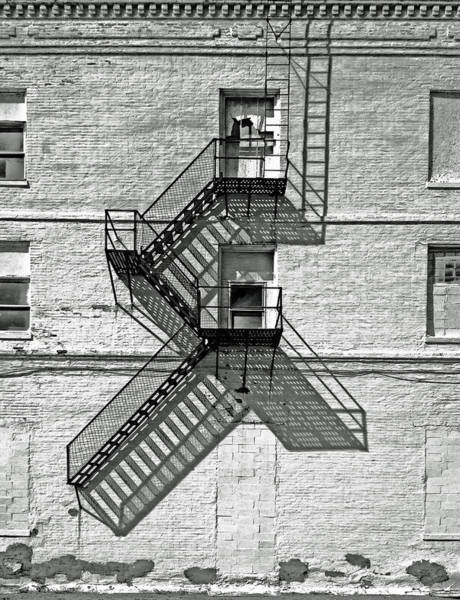 Ladders Photograph - Great Escape by Don Spenner