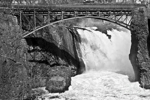 Great Falls In Paterson Nj Art Print