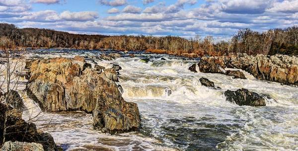 Chesapeake And Ohio Wall Art - Photograph - Great Falls by JC Findley