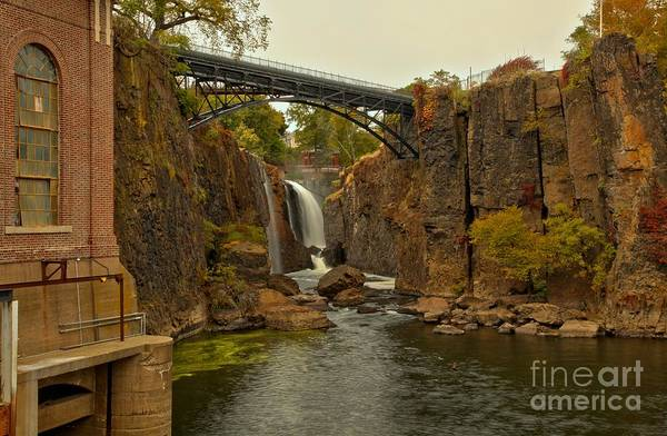 Photograph - Great Falls Of Paterson New Jersey by Adam Jewell