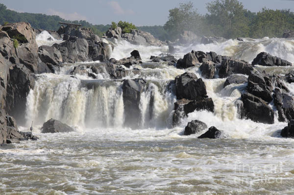 Wall Art - Photograph - Great Falls Of The Potomac River by William Kuta