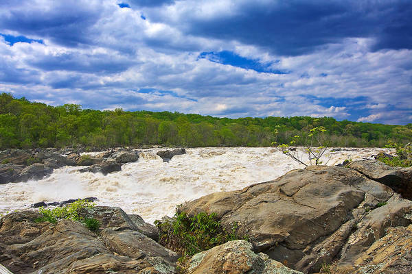 Photograph - Great Falls White Water #6 by Stuart Litoff