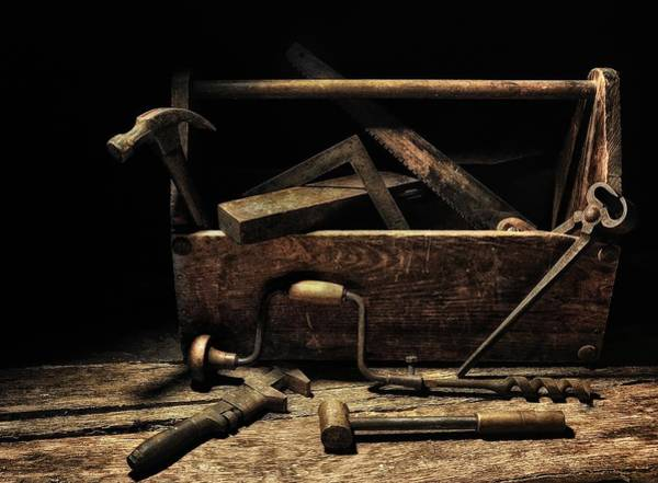 Photograph - Great-granddaddy's Tool Box by Mark Fuller