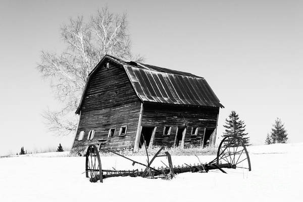Photograph - Great Grandfather's Barn by Lori Dobbs