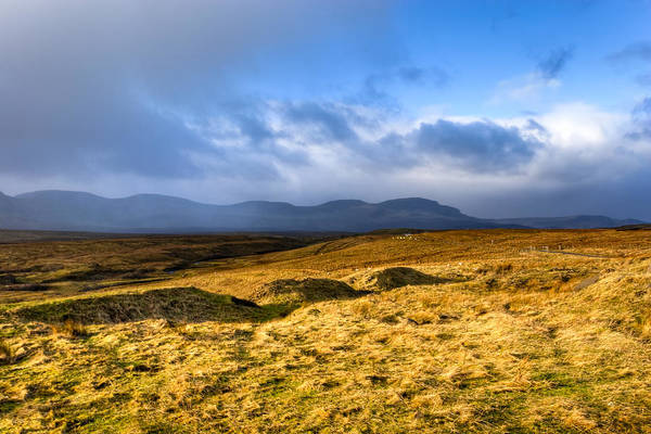 Photograph - Great Grass Sea - Isle Of Skye Landscape by Mark Tisdale
