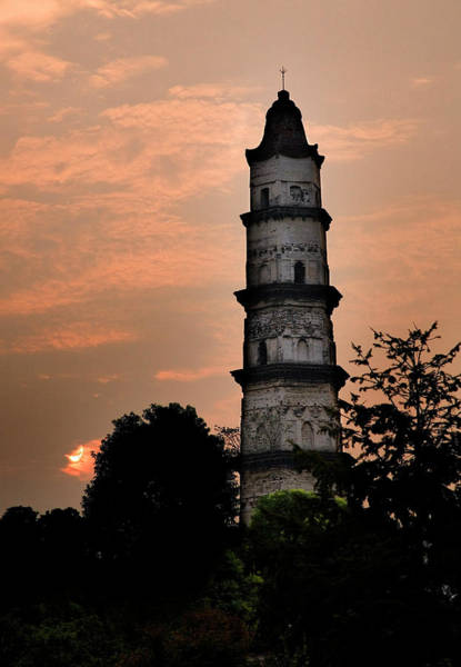 Mercy Wall Art - Photograph - Great Mercy Pagoda, Shaoxing, Zhejiang by William Perry