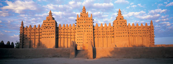 Developing Country Photograph - Great Mosque Of Djenne, Mali, Africa by Panoramic Images
