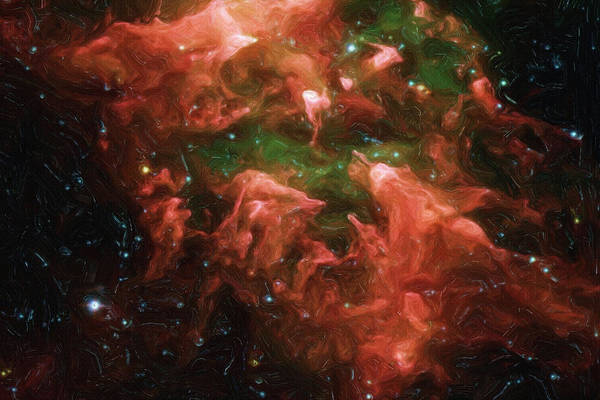 Painting - Great Nebula In Carina by Inspirowl Design