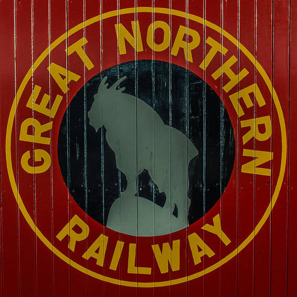 One Of A Kind Photograph - Great Northern Railway by Paul Freidlund