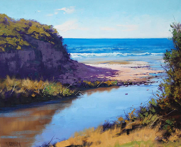 Victoria Wall Art - Painting - Great Ocean Rd  Vic by Graham Gercken