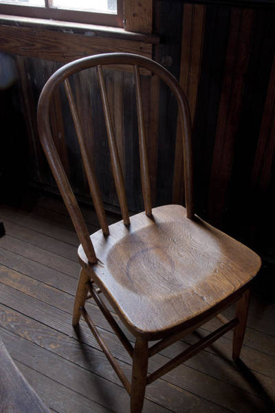 Great Old Chair Art Print
