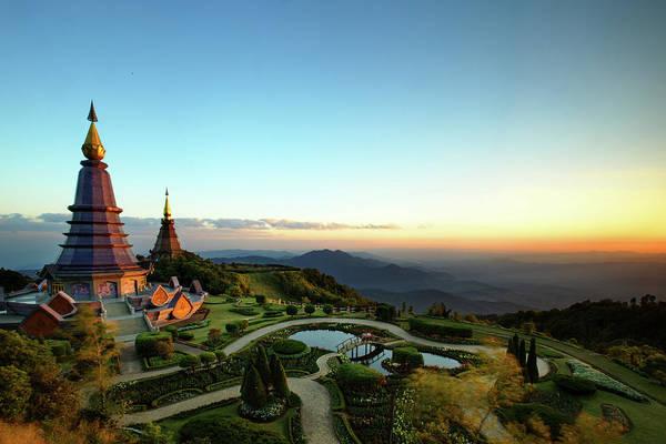 Chiang Mai Province Photograph - Great Pagoda Of Doi Inthanon by By Chakarin Wattanamongkol