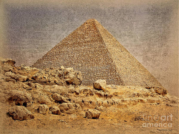 Great Pyramid Of Khufu Art Print