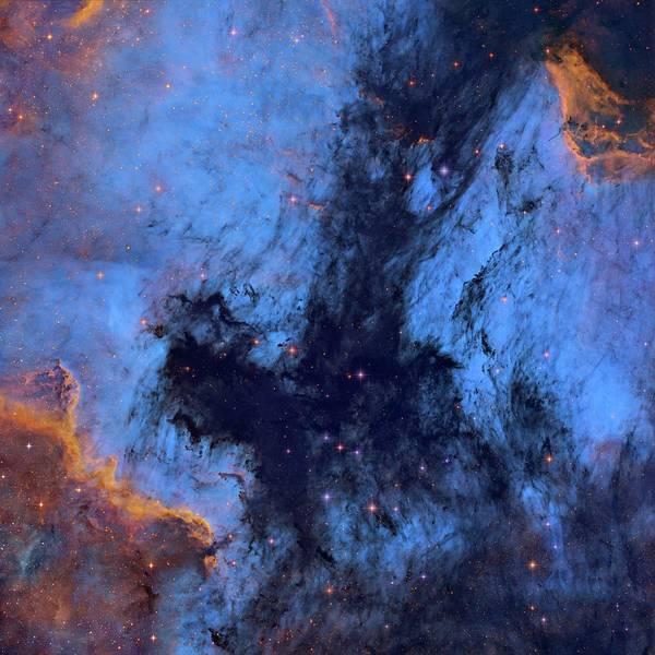 Brighter Side Photograph - Great Rift Nebula by Tony & Daphne Hallas