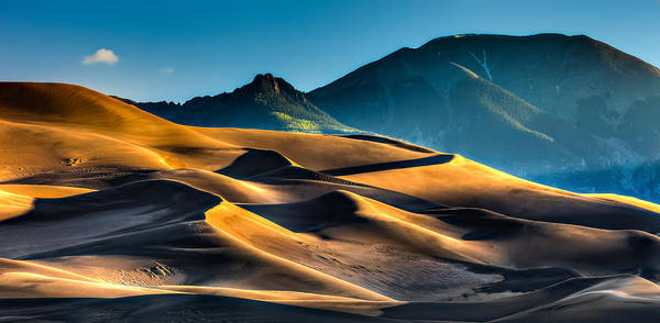 Photograph - Great Sand Dunes At Dawn by David Wynia