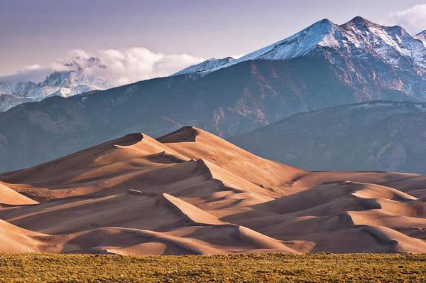 Photograph - Great Sand Dunes Nat Park, Sangre De by Witold Skrypczak