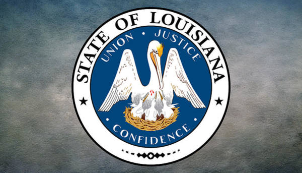Digital Art - Great Seal Of The State Of Louisiana  by Movie Poster Prints