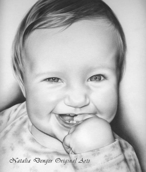 Wall Art - Drawing - Great Smile by Natasha Denger