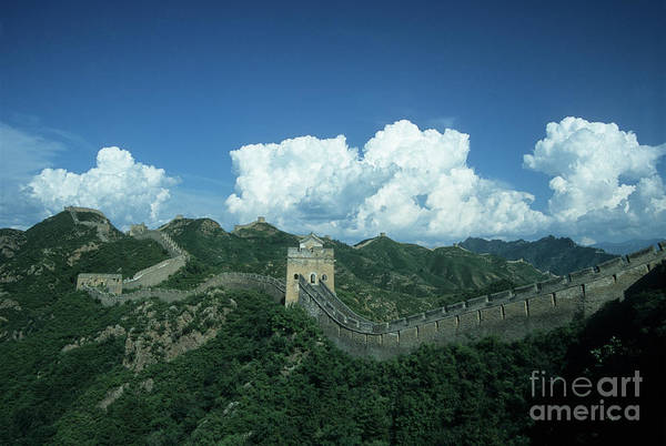 Photograph - Great Wall Of China 1 by James Brunker