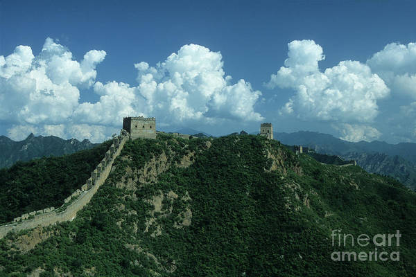 Photograph - Great Wall Of China 2 by James Brunker